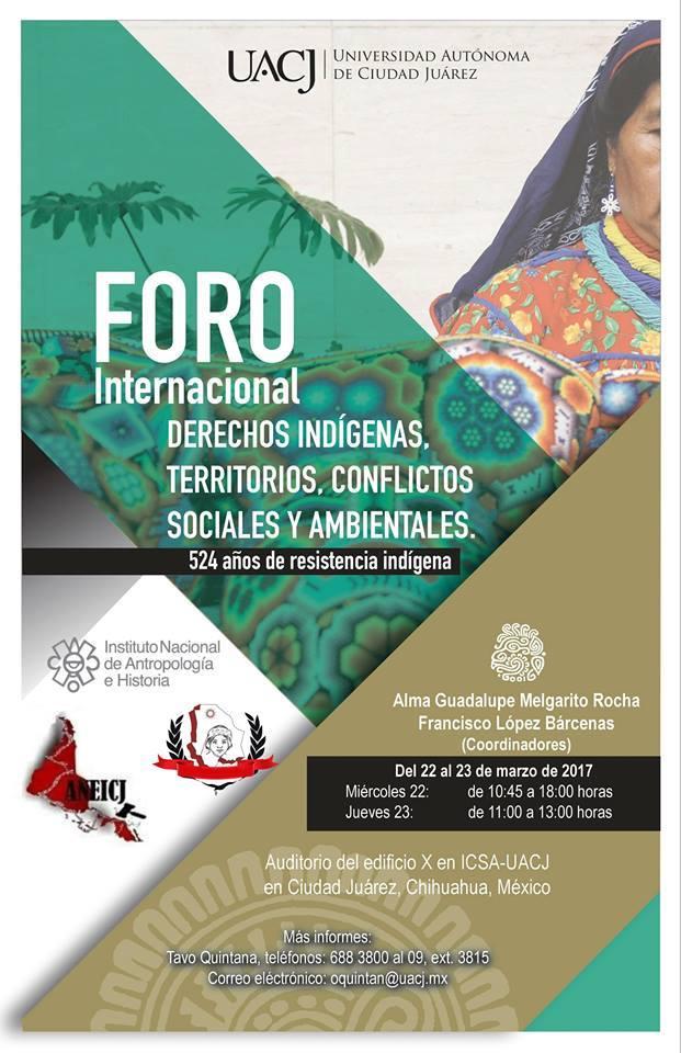 aneicj.foro. derechos indígenas. crítica jurídica. 1