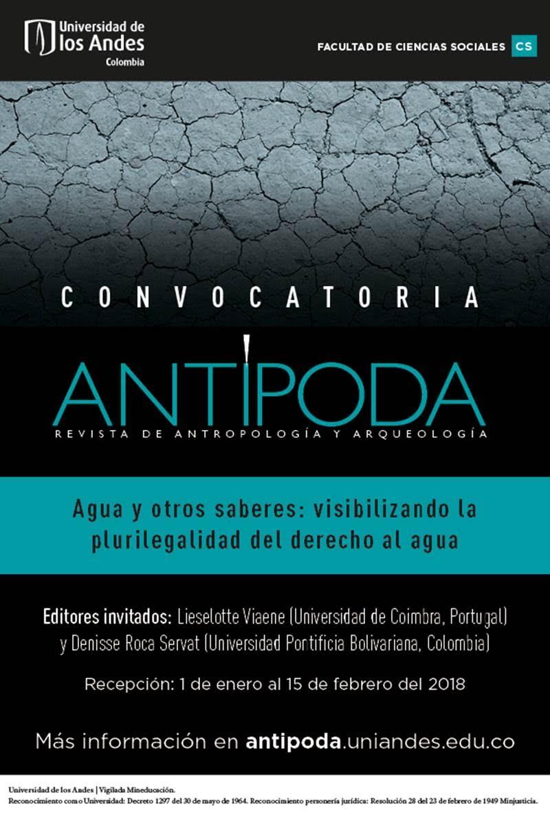 ANTÍPODA. CONVOCATORIA