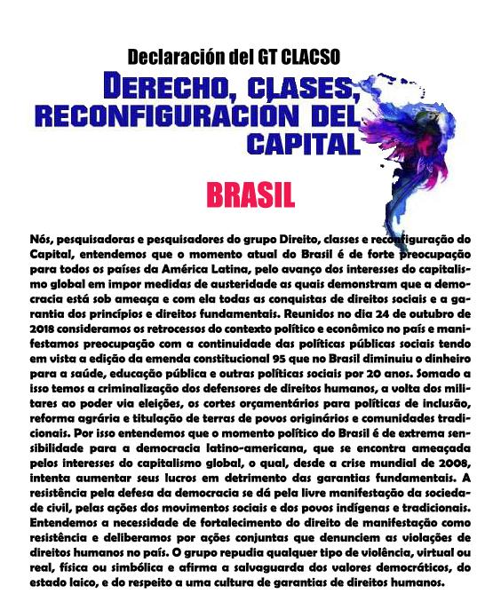 CARTA BRASIL. 28.10